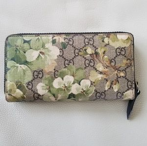 Authentic Limited Edition Floral Gucci Wallet